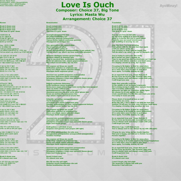06 Love is Ouch