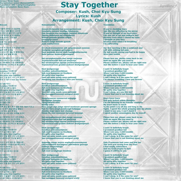 06 Stay Together