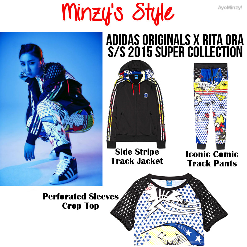 80s Fashion Pictures Adidas FASHION Minzy For Adidas
