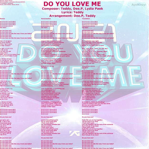 01 Do You Love Me