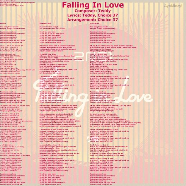 01 Falling In Love