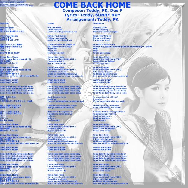 02 COME BACK HOME