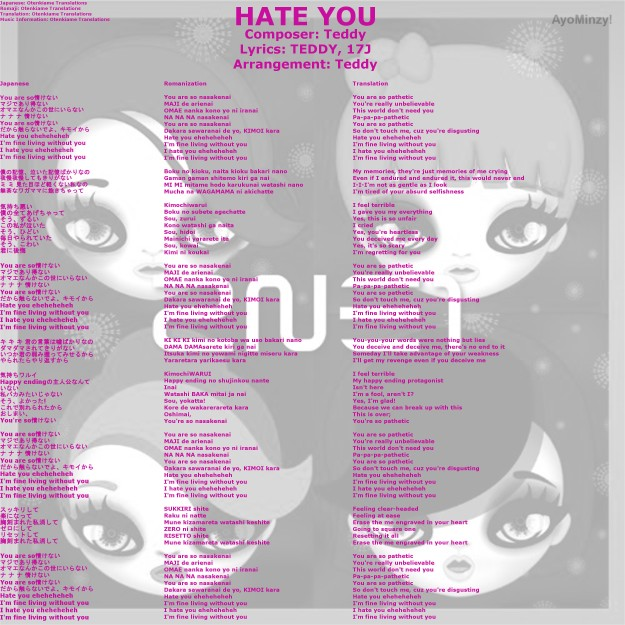 04 HATE YOU