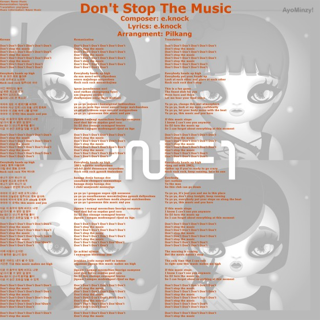 06 Don't Stop The Music