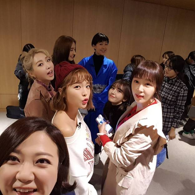 Unnies Slam Dunk: [INSTAGRAM] The Unnies All Together (February 24, 2017